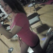 Getting ready for pole dance class